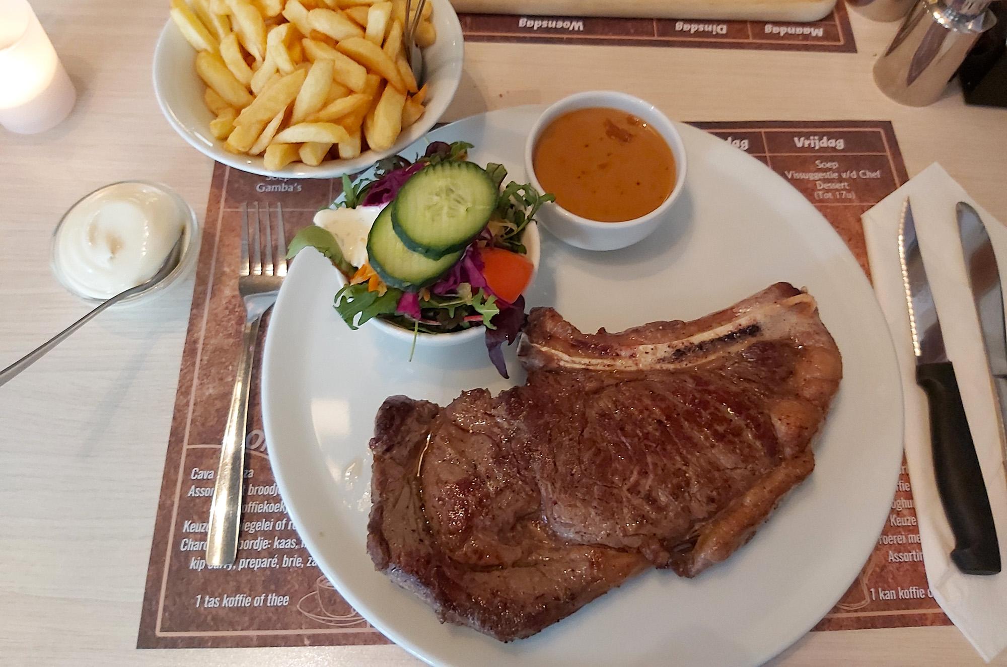de beste steak van belgie steakhouse de klok