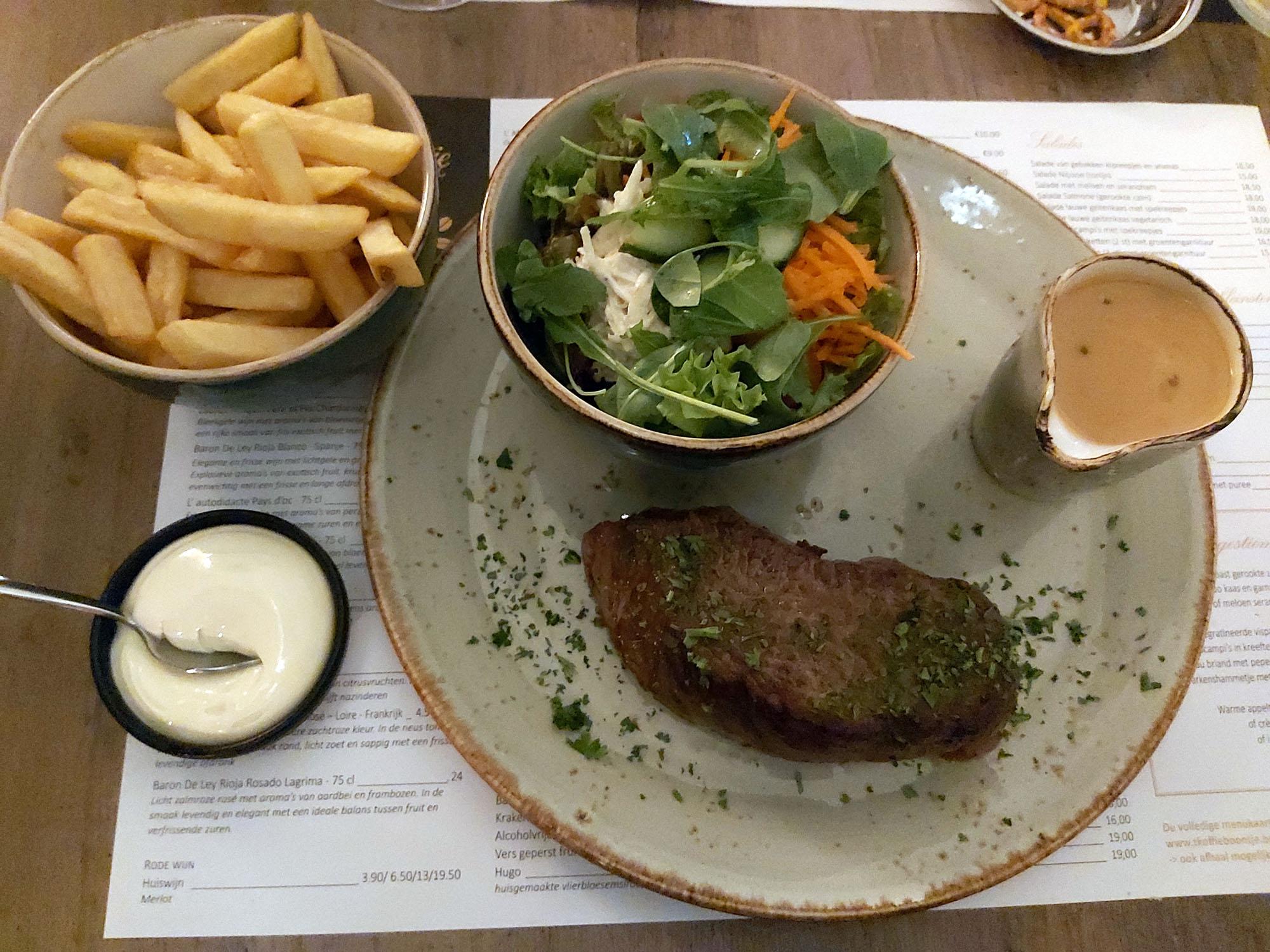 de beste steak vna belgie koffieboontje