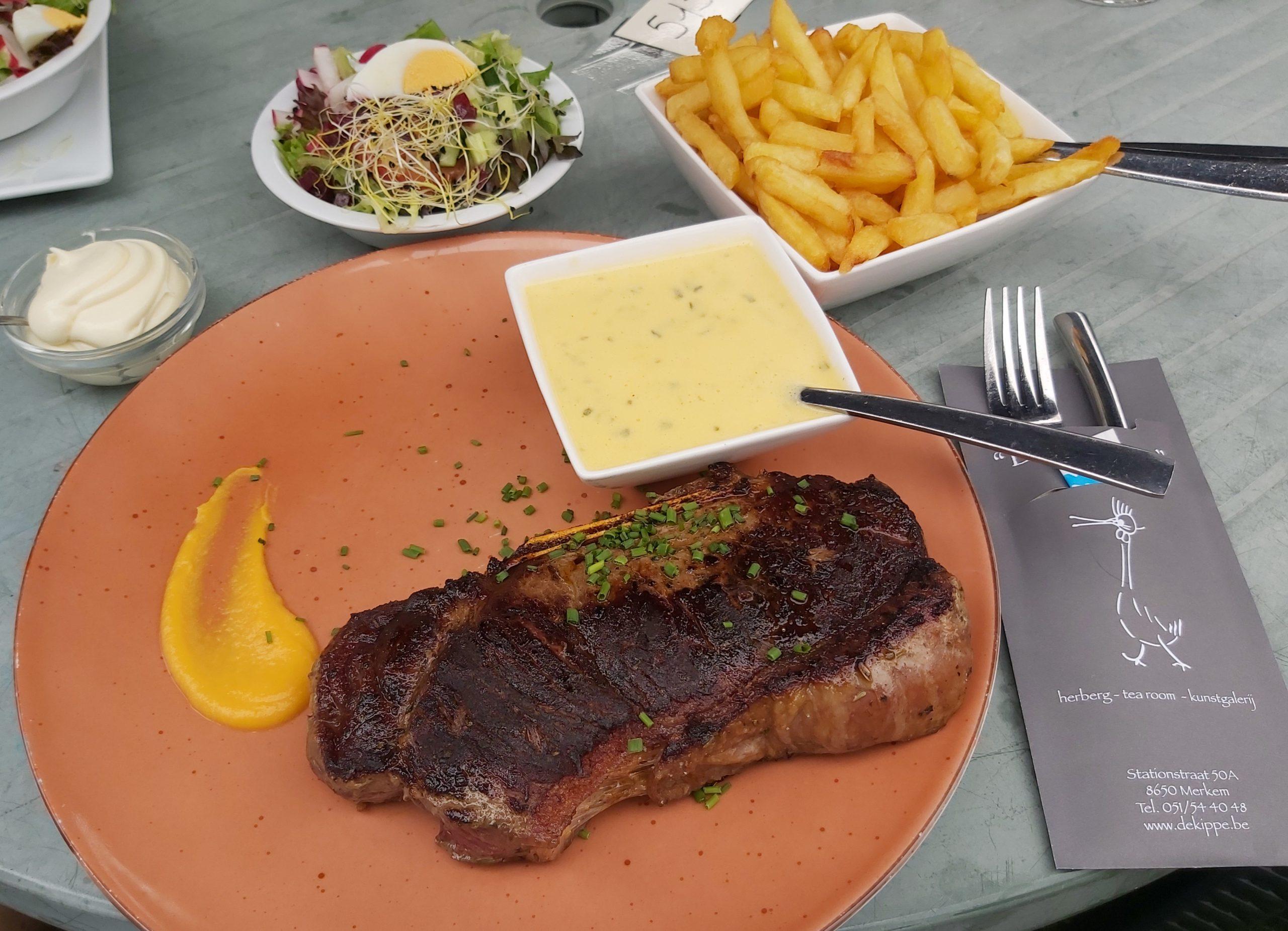 de beste steak van belgie cote a los de kippe merkem