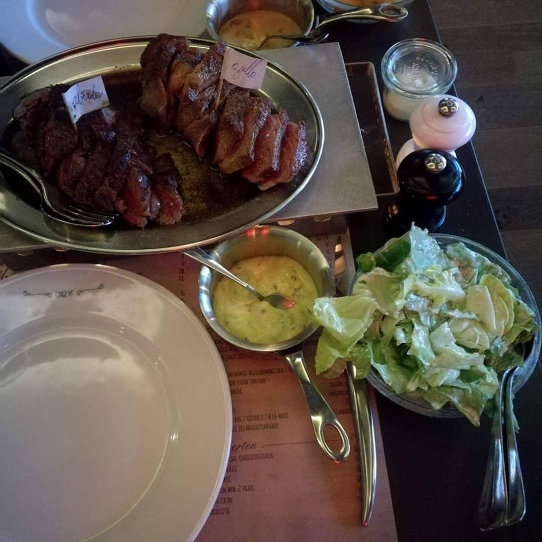de beste steak van belgie bistro tribunal