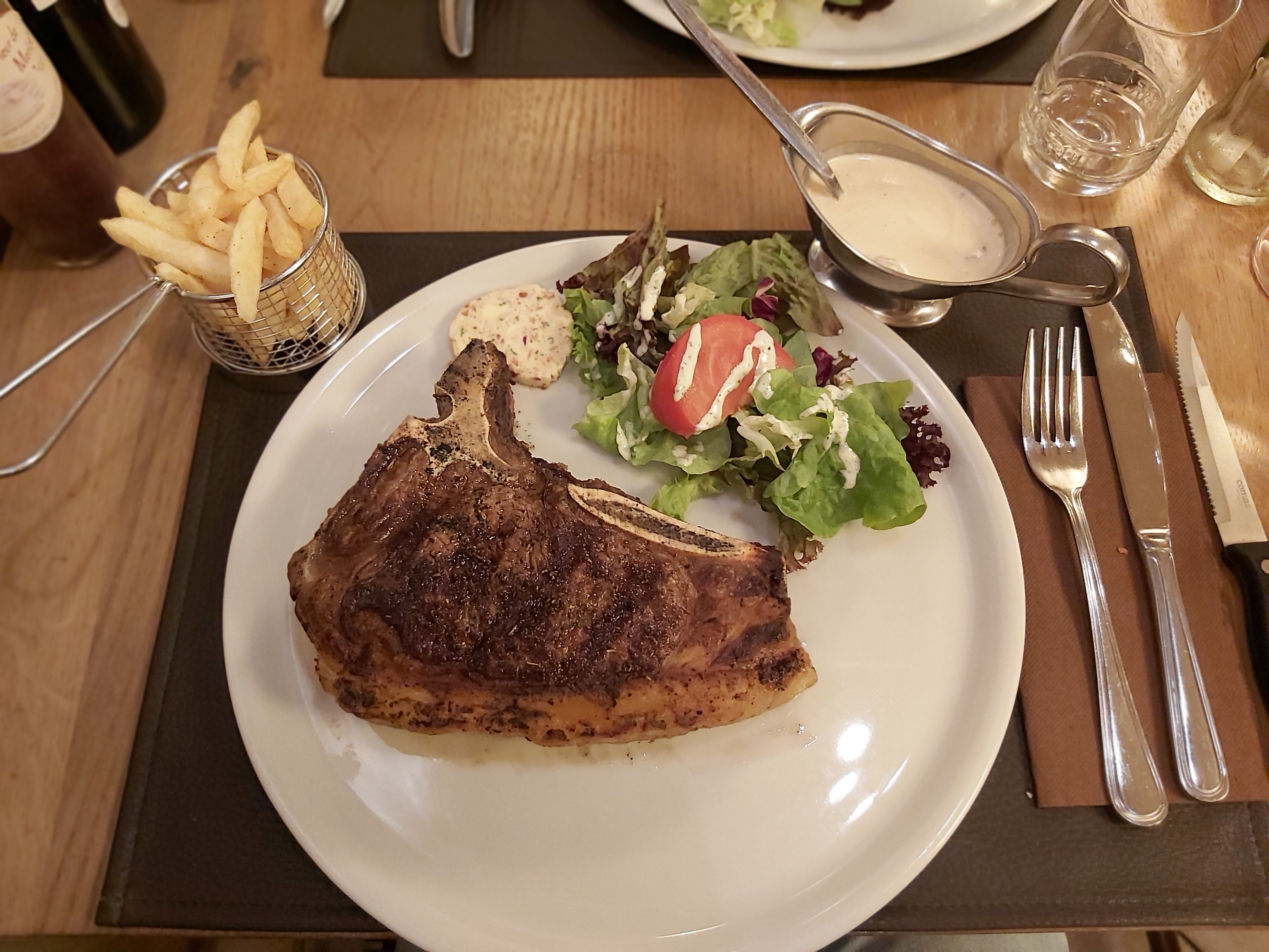 la chaumiere de beste steak van belgie