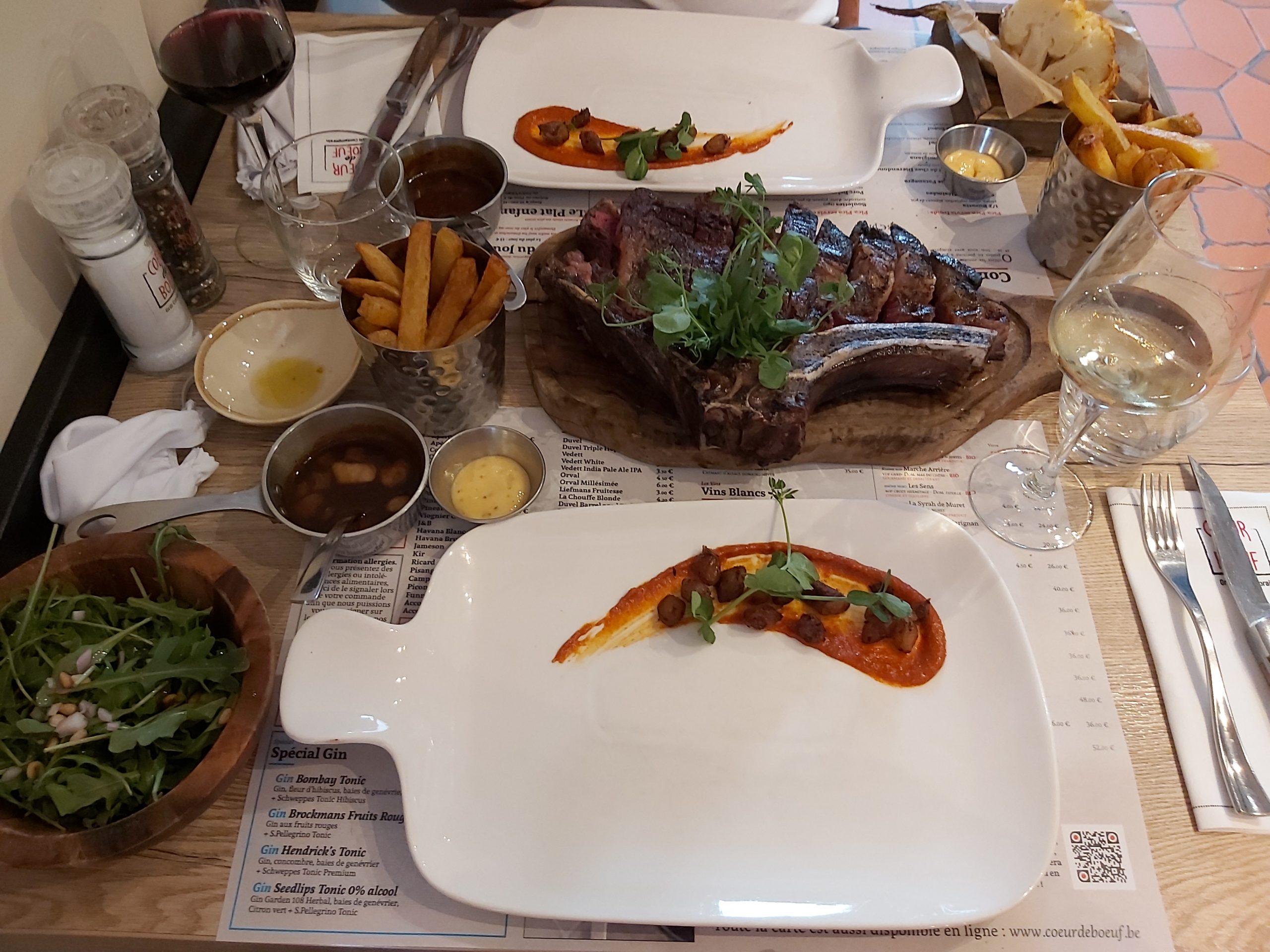 de beste steak van belgie coeur de boeuf