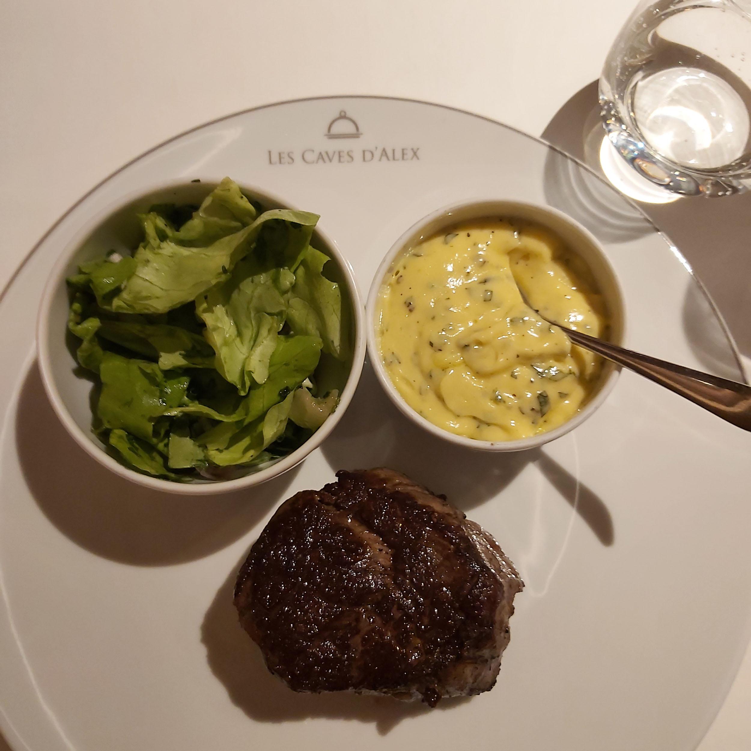 de beste steak van belgie caves d'alex