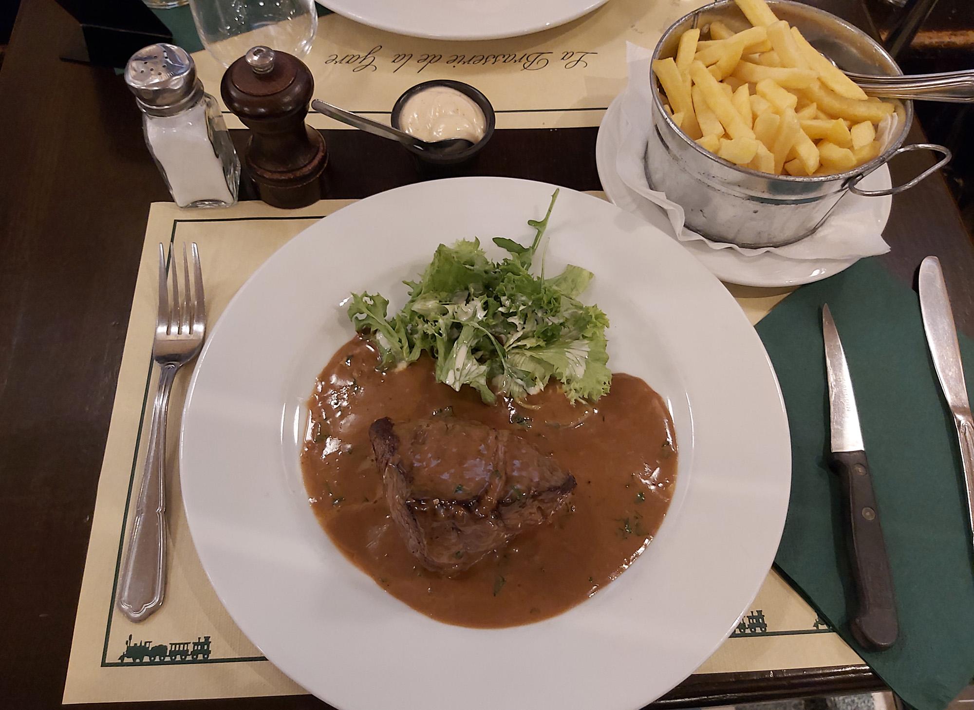 de beste steak van belgie brasserie de la gare
