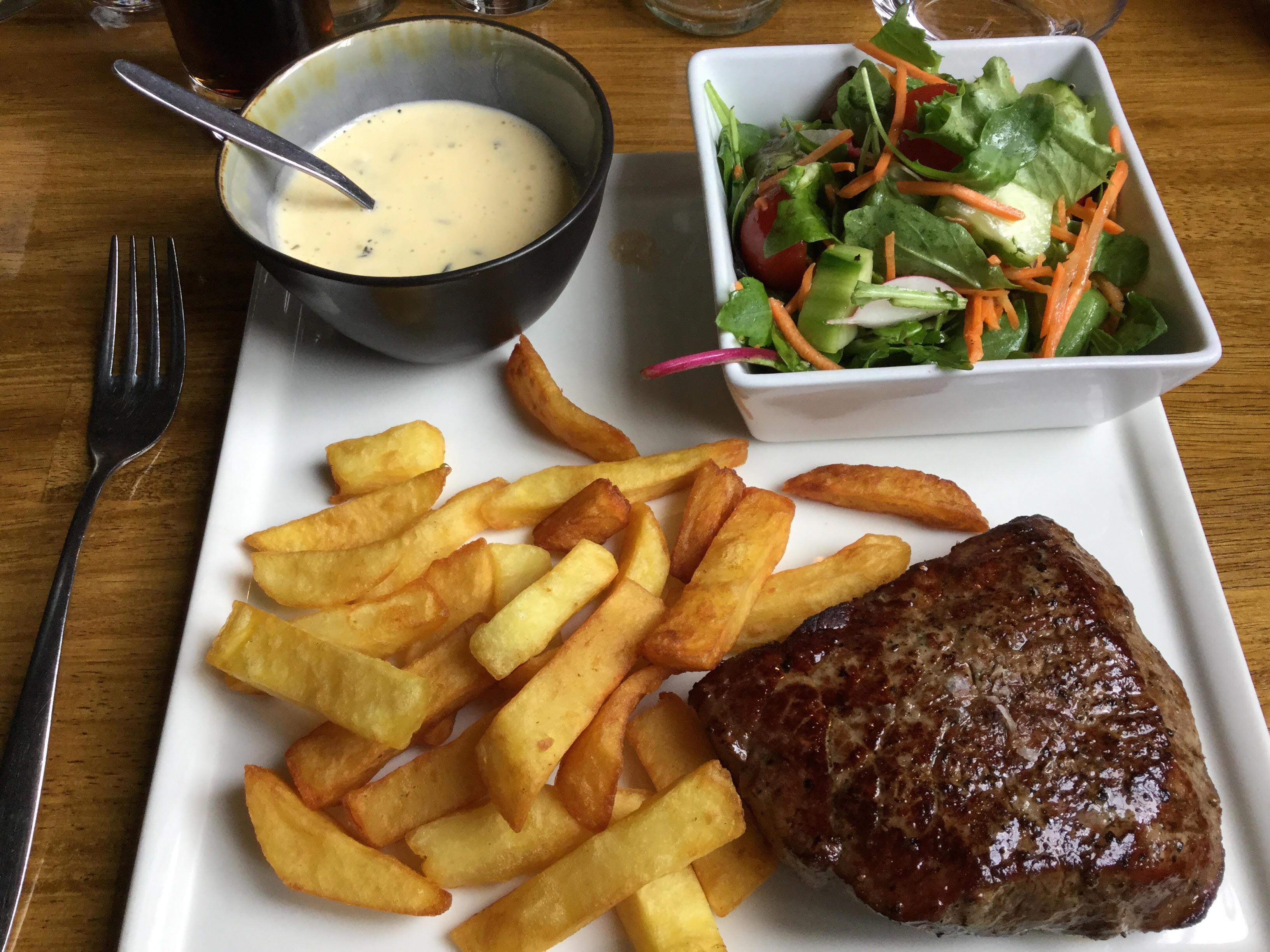 de beste steak van belgie brasserie improvisio